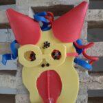 Fjollet maske