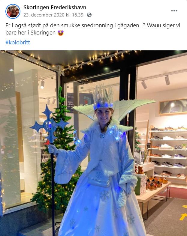 Skoringen i Frederikshavn kom i kontakt med deres kunder